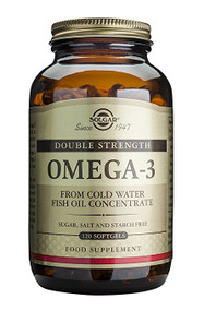 Solgar - Double Strength Omega-3 700 mg Softgels 120