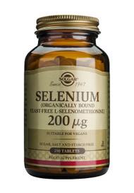 Solgar - Yeast-Free Selenium 200 mcg Tablets 250