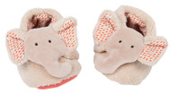 Moulin roty Elephant baby slippers - Les Papoum M658010