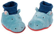 Moulin roty Hippo baby slippers - Les Papoum M658011
