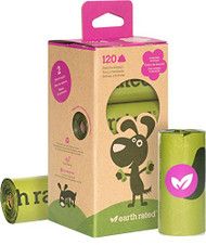 Earth rated 120 Standard Bags on 8 Refill Rolls
