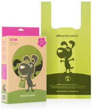 Earth Rated Dog Waste Bags with Handles (120 ct bags)