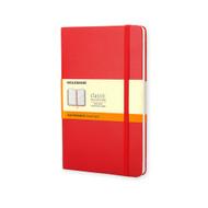 Moleskine Classic Notebook Pocket Ruled Scarlet Red Hard Cover