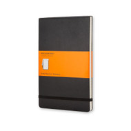 Moleskine REPORTER NOTEBOOK Pocket Ruled Black Hard Cover