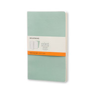 Moleskine VOLANT JOURNAL Large Ruled Sage Green