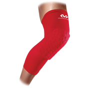 McDavid Hex Leg Sleeves/Pair Scarlet