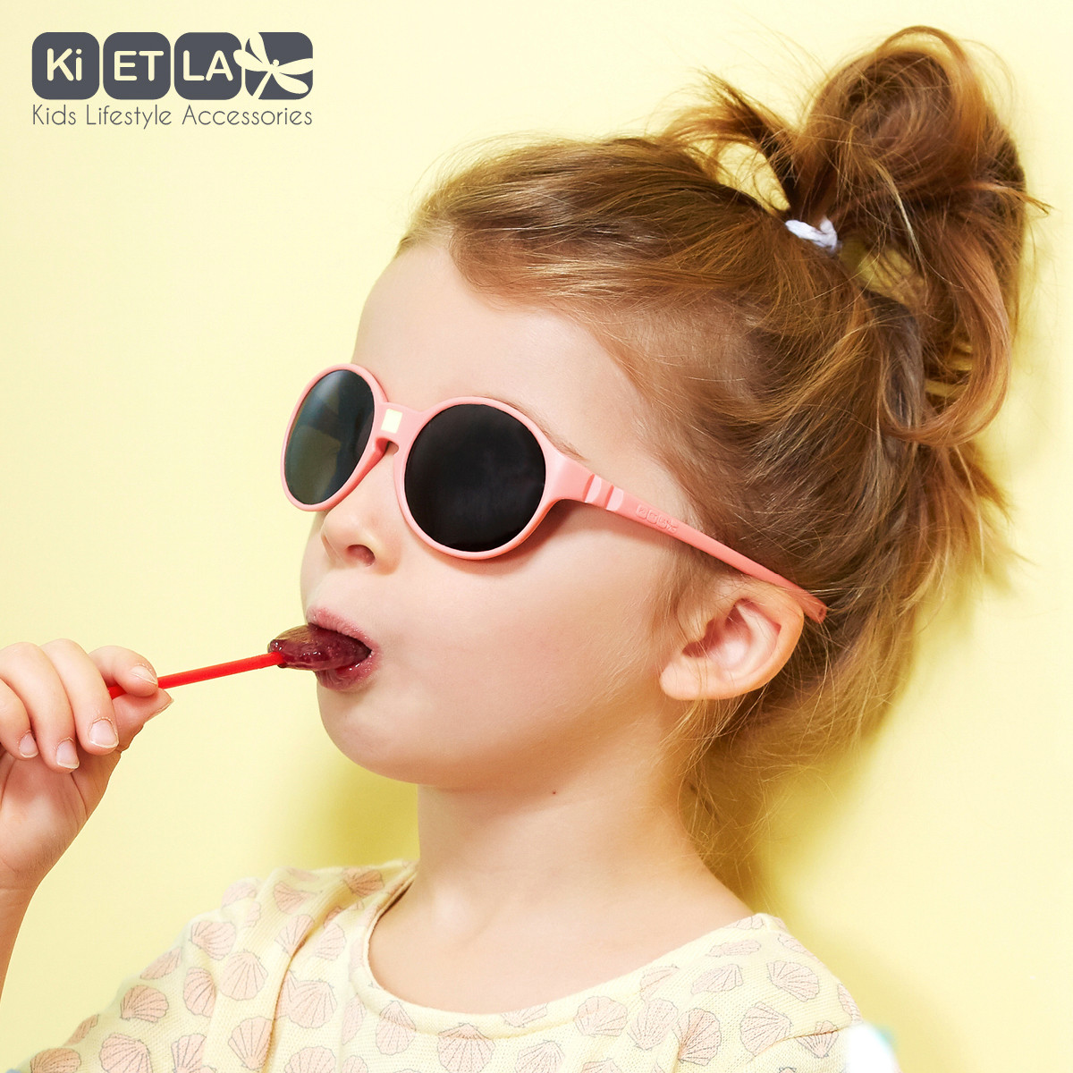 New Ki ET LA Sunglasses for Kids French Style 100/% Unbreakable 4-6 Years Old