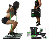 BodyBoss Home Gym 2.0 - Full Portable Gym Home Workout Package + 1 Set Of Resistance Bands