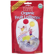 Yummy Earth Organic Lollipops 6oz