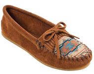 Minnetonka Women's El Paso II Suede Moc - Brown/Size 7