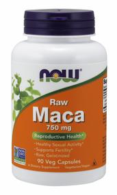 NOW Foods Maca 750 mg Extract 6:1 90 Caps 4777