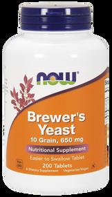 NOW Foods Brewer's Yeast, 10 Grain 200 Tbs 2410