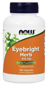 NOW Foods Eyebright Herb 410 mg 100 caps 4668