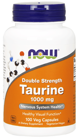 NOW Foods Taurine 1000 mg,100 Vcaps 0142