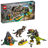 LEGO 75938 Jurassic World T. rex vs Dino-Mech Battle
