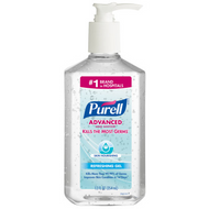 PURELL Advanced Hand Sanitizer Skin Nourishing Gel 12 fl oz Table Top Pump Bottle