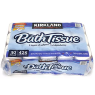 Kirkland toilet paper bus tissue double 30 roll