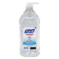 PURELL Advanced Hand Sanitizer Gel 2 Liter Economy Size Pump Bottle