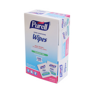 PURELL Hand Sanitizing Wipes Alcohol Formula 100 Individually-Wrapped Wipes