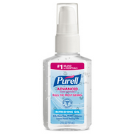 PURELL Advanced Hand Sanitizer Gel 2 fl oz Portable Pump Bottle