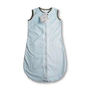 newest 7d47e 063e6 Swaddle Designs zzZipMe Sack - Baby Velvet Pastel Blue with Mocha Trim (3-6  months)