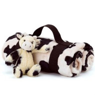 Jellycat Bashful Calf Travel Set