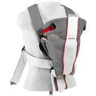 BABYBJÖRN Baby Carrier Air - Gray / White, Mesh