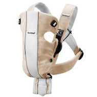 BABYBJÖRN Baby Carrier Air - Sand / White, Mesh