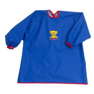 BABYBJORN EAT AND PLAY SMOCK BLUE