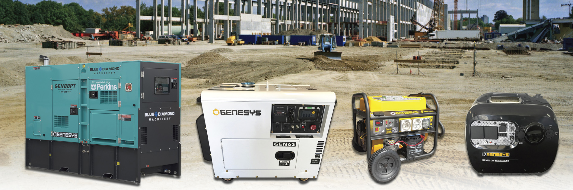 Blue Diamond's Generator Range in Perth