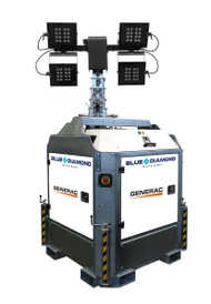 Stationary Generac Cube+ Hybrid LED Light tower