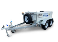 Portable Self Bunded Diesel Trailers