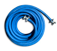 Air Compressor Hose - 20m x 20mm H/D Rubber - Claw Coupling End