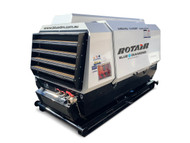 Portable Compressor 131HP 400CFM - ROTAIR MDVS 120 P10 - Skid Mounted