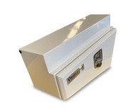 Underbody Steel Tapered Tool Box White RHS