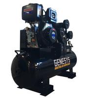 Piston Air Compressor- Diesel 11HP 42 CFM 160L 125 PSI