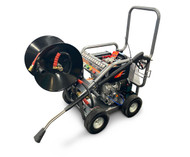 Diesel Pressure Washer 3600 PSI 12HP with Hose Reel