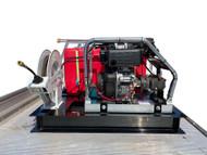 Mine Spec Diesel Pressure Washer 4000 PSI with 500L Water Tank - Skid