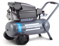 Atlas Copco Piston Air Compressor - 2.5HP, 5.2CFM, 24L