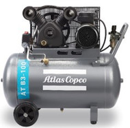Atlas Copco Piston Air Compressor - 2HP, 10.4CFM, 100L