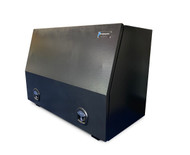 Black Steel Mine Series Tool Box with Drawers- W1200