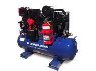 Mine Spec Piston Air Compressor- Diesel 11HP 42 CFM 160L 145 PSI