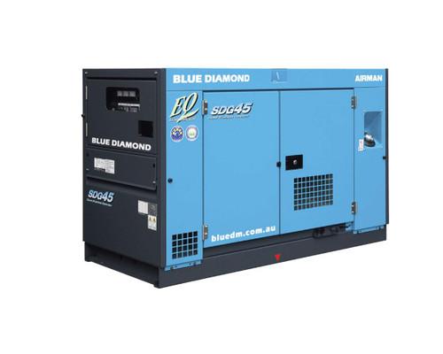 Airman SDG45 Diesel Generator 37KVA 3 Phase 4 Wire