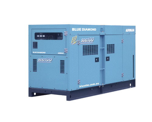 AIRMAN Diesel Generator 100 KVA, 3 Phase, 4 Wire