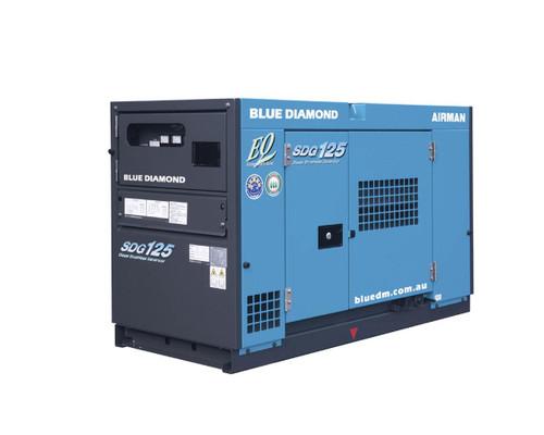 Airman SDG125 Diesel Generator- 3 Phase, 4 Wire