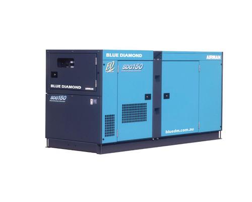AIRMAN Diesel Generator 125 KVA, 3 Phase, 4 Wire