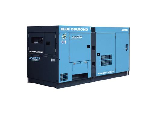 AIRMAN Diesel Generator 220KVA 3 Phase 4 Wire