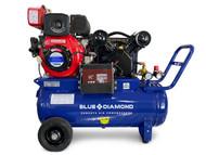 Piston Air Compressor- Diesel 4HP 16 CFM 70L 145 PSI