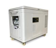 Portable Generator - Petrol 12KVA Silenced Canopy