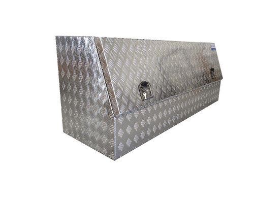 Half Door Aluminium Tool Box for Utes and Trucks- Great storage for tools and parts